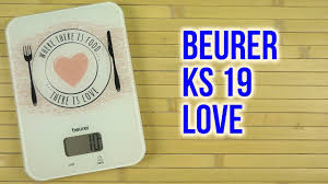Распаковка <b>BEURER KS 19 Love</b> - YouTube