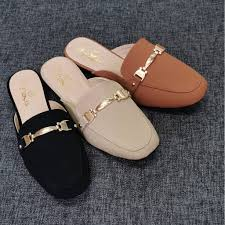 <b>NEW ARRIVAL POINTED</b> FLAT HALF-SHOES FOR WOMEN ...
