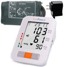 LotFancy Upper <b>Arm Blood</b> Pressure Monitor - Talking <b>Automatic</b> ...