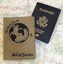The World Awaits <b>Passport Holder</b> - Personalized <b>Passport Holder</b> ...