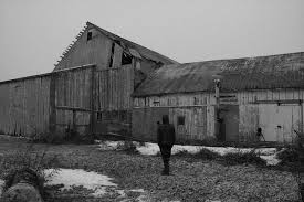 Man And A Barn by Anthony Sheardown - Man And A Barn Photograph - Man And A ... - man-and-a-barn-anthony-sheardown