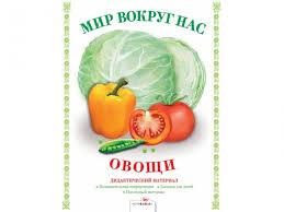 <b>Стрекоза Мир</b> Вокруг нас Дидактический материал Овощи ...
