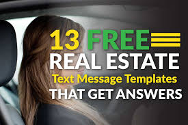 13 real estate text message templates that get you answers 13 real estate text message templates that get you answers easy agent pro