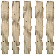 """Festnight Extendable Garden Wood <b>Trellis Fence</b>, <b>5</b>' 11"""" x 2' 11"""", Set ..."""