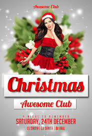christmas flyer psd templates for photoshop christmas psd flyer template