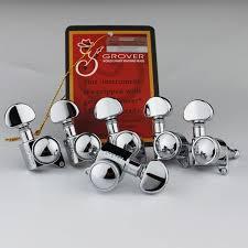 <b>1 Set</b> Grover 505C <b>6 in line</b> Chrome Mini Roto Grip Locking ...