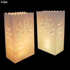 online get cheap sun papers com alibaba group 50pcs lot r tic sun flower candle bag wedding retardant tea light paper bags luminaries lantern