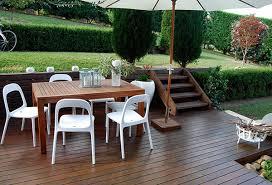 Tavolo Da Terrazzo In Legno : Tavoli da giardino legno plastica e ferro