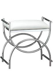 inspiration bathroom vanity chairs: valuable stool for bathroom vanity modern stools contemporary rolling vanities small white metal with wheels