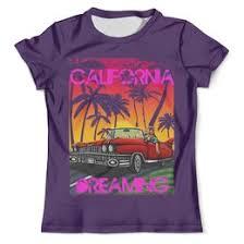 Толстовки, кружки, чехлы, футболки с принтом california, а также ...