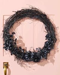 love halloween window decor: black magic halloween wreath halloween wreath on door  d vert