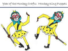 Kid Crafts for Year of the Monkey: Chinese New Year Art Projects ...
