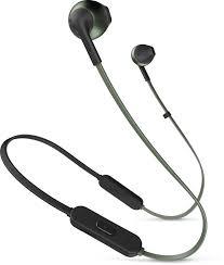 Купить <b>Наушники</b> с микрофоном <b>JBL T205BT</b>, Bluetooth, зеленый ...