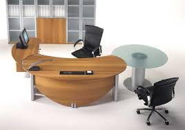 round office desk free office desk with curved end brilliant furniture office chair