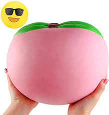 WATINC 10inch Jumbo Squishies, Large Peach ... - Amazon.com