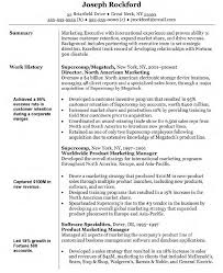 Resume Examples  Sample Resume for Marketing Manager Marketing     Rufoot Resumes  Esay  and Templates