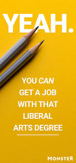 17 best images about career advice interview a actually you can get a job that liberal arts degree
