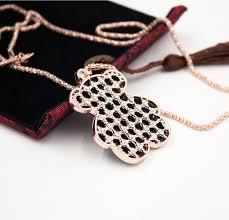 Wholesale <b>Fashion Long</b> Bear <b>Clavicular Chain</b> Necklaces ...