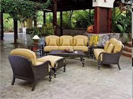brown wicker outdoor furniture dresses: furnitures better homes and gardens outdoor furniture brown iron garden patio set brown iron chair brown iron table brown iron bench brown iron side table
