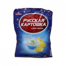чипсы картофельные русская картошка сыр 50 г