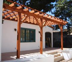 Pergola attached to house  Pergolas and House on Pinterest