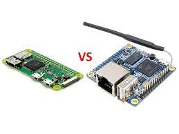 Сравнение <b>Raspberry Pi</b> Zero W и <b>Orange Pi</b> Zero - MicroPi