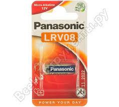 Щелочная <b>батарейка A23</b> LRV08 12В бл/1 Panasonic ...