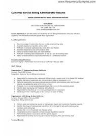 Resume and Customer service on Pinterest Pinterest This Customer Service Billing Administrator Resume example  can help you to get an idea of what a resume should and could look like  It     s always useful to