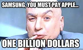 One BILLION dollars - dr-evil - quickmeme via Relatably.com