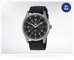 best watches for men askmen seiko 5 snzg15j1 field watch