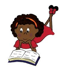 Image result for cartoon black students studying
