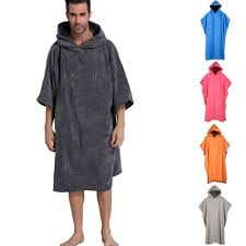 <b>Men's</b> Clothing Soft Boys <b>Mens Changing</b> Robe Towel Bath Hooded ...