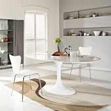 White Oval Dining Table Breathtaking On Modern Home Decor Ideas Or - Dining room tables oval