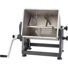 Guide <b>Gear</b> Stainless Steel <b>Meat Mixer</b> with Tilt — 7-Gallon, 33-Lb ...