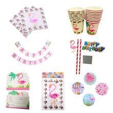<b>Flamingo</b> Party Supplies Disposable Tableware Promotion-Shop for ...