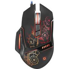 Wired gaming mouse <b>Defender Kill'em All GM-480L</b> 3200DPI,Light