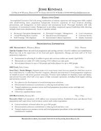 chef resume example sample cv trainee  seangarrette cochef