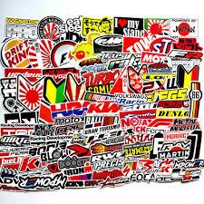 <b>100PCS JDM Stickers Pack</b> Car Motorcycle Racing Motocross ...