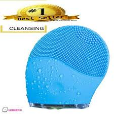 Waterproof <b>Electric Facial</b> Care <b>Silicone</b> Cleanser Cleansing Brush ...
