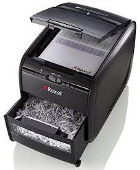 <b>Rexel Auto+ 60X</b> Cross Cut Paper/Credit Card Shredder With <b>60</b> ...