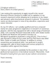 Cover Letter Samples Research Assistant   Professional Reference