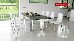 round glass extendable dining table:  dining table maxresdefault tower  person extending metal amp glass table youtube  person dining