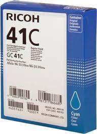 <b>Картридж Ricoh GC</b>-<b>41C</b> голубой для принтера Ricoh ...