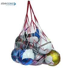 EASYGOING <b>1Pcs Nylon</b> Net Bag Ball Carry Mesh Volleyball ...