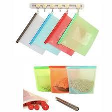 Reusable <b>Food</b>-<b>Grade Silicone</b> Fresh-Keeping <b>Storage Bags</b>