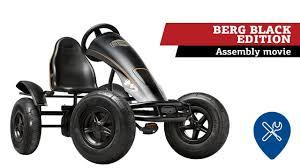 BERG Black Edition <b>pedal</b>-<b>gokart</b> | assembly movie - YouTube