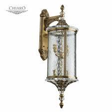 <b>Уличный настенный светильник Chiaro</b> Мидос 3 802021004