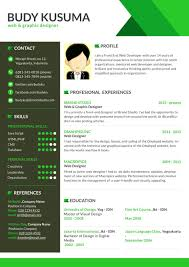 awesome resume templates graphic design and flasher template green gallery of innovative resume formats