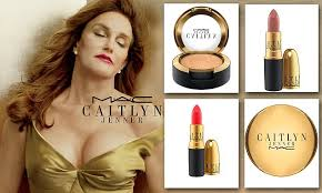 Caitlyn Jenner shows off cleavage as latest make-up collection with ...