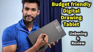 Best Budget Digital <b>Drawing Tablet</b> in 2019 | <b>VEIKK A50</b> Review ...